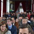 Público en la presentación de Posmodernia