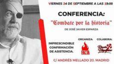 Conferencia de José Javier Esparza