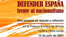 """Posmodernia participa en las jornadas: """"Defender a España frente al nacionalismo"""""""