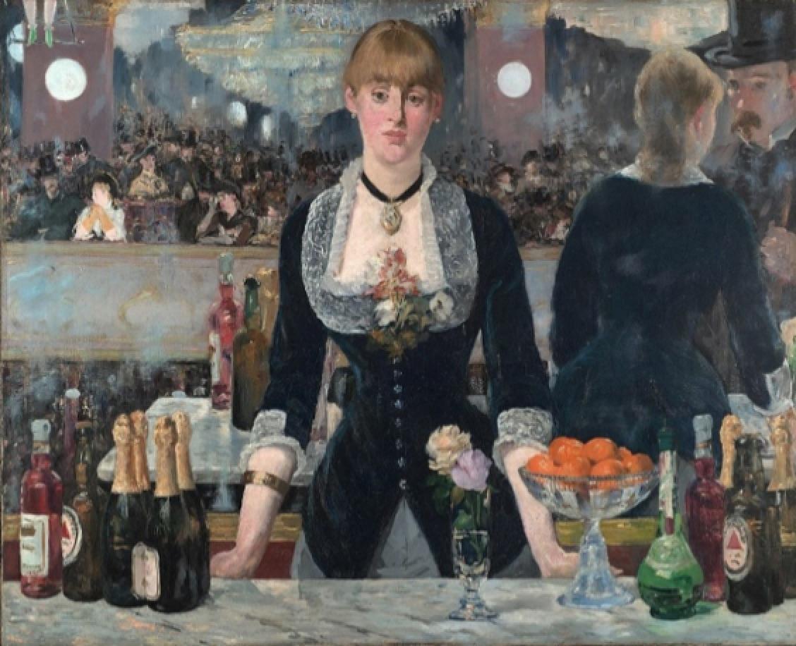 Un bar del Folies Bregére