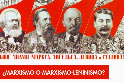 marxismoleninismo