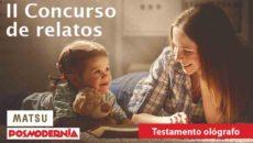 II concurso de relatos: Testamento ológrafo